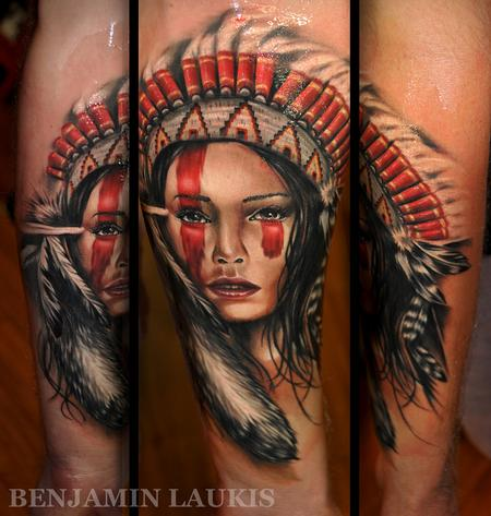 Apace Girl Tattoo Design