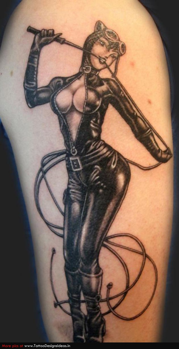 Best Pin Up Girl Tattoo Design