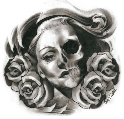 Girl tattoos page 31 for Black and grey tattoo designs