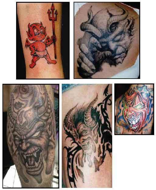 Devil Tattoo Images & Designs