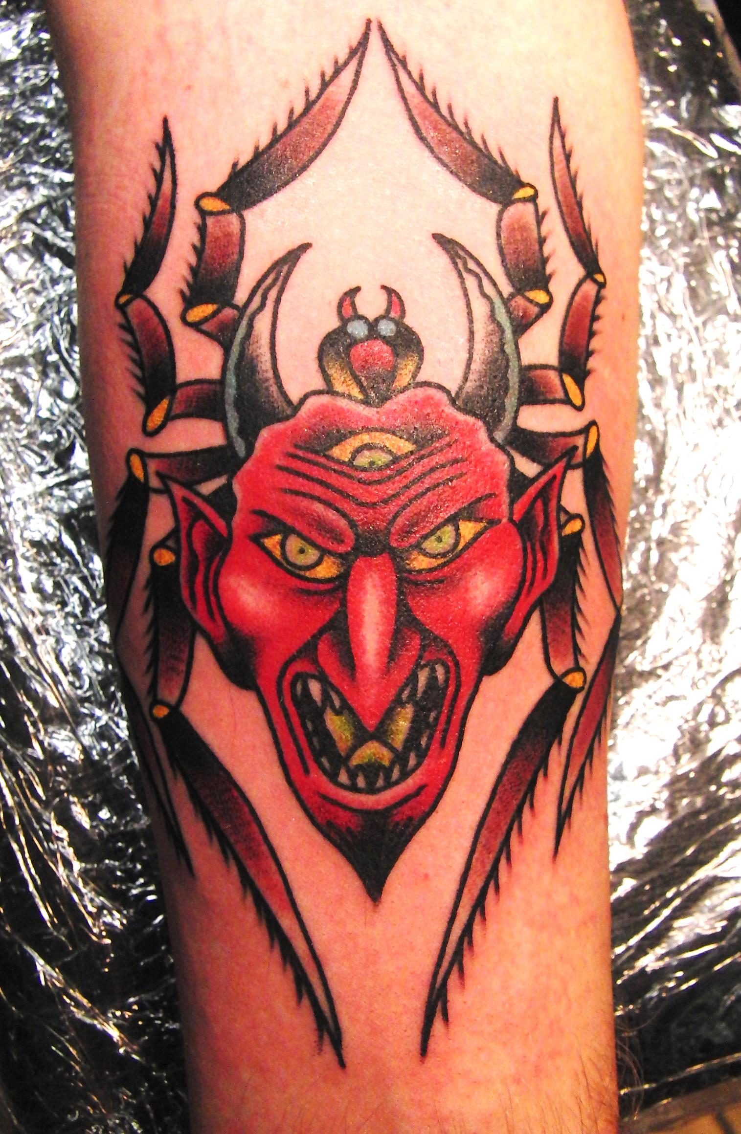devil tattoos page 69. Black Bedroom Furniture Sets. Home Design Ideas