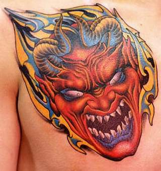 Devil Tattoo Images & Designs