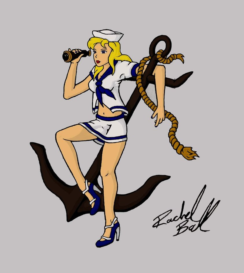 sailor girl pin up naked