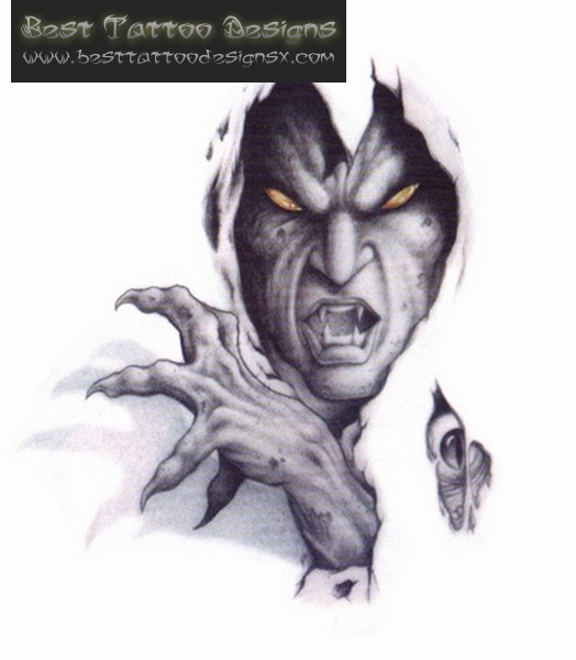 Devil Tattoo Images amp Designs