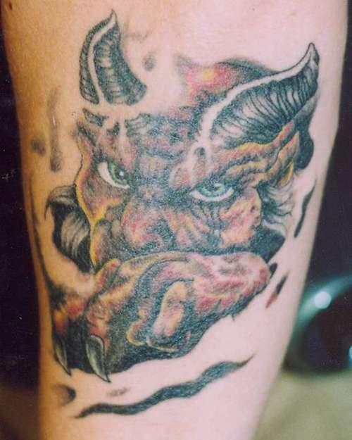 Tattoo Designs Devil: Devil Tattoo Images & Designs