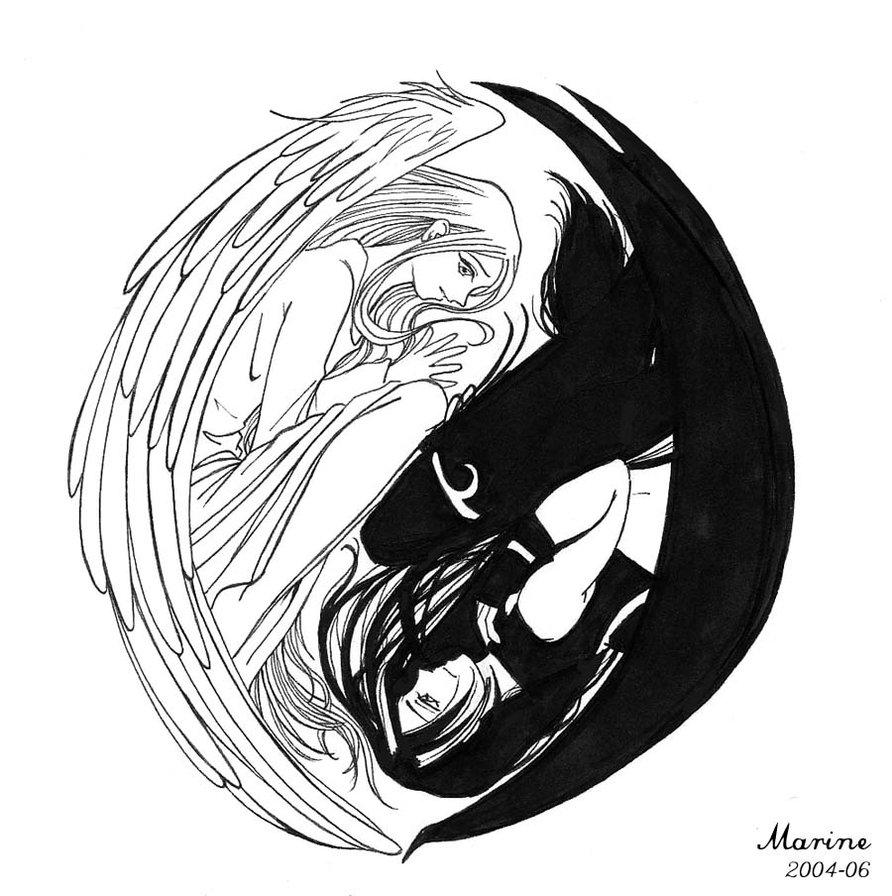 Showing post & media for Anime ying yang symbol | www.symbolsnet.com