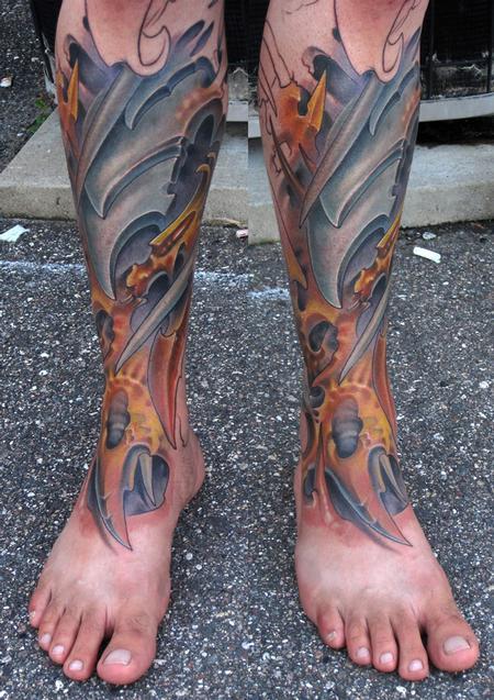 Tribal Lotus Flower Tattoo Designs