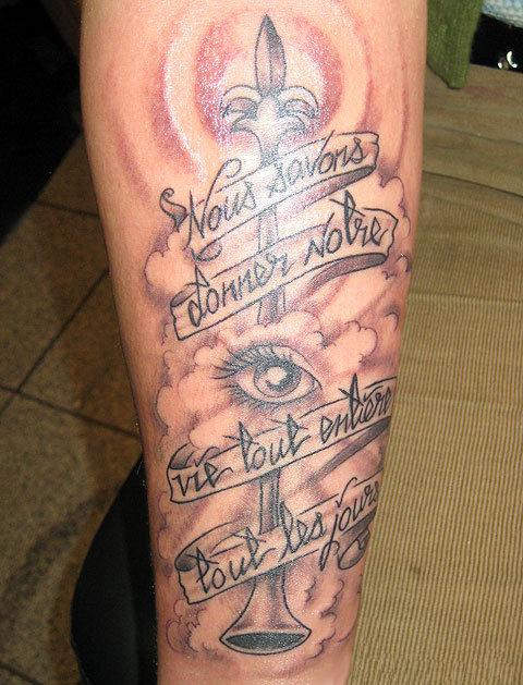 Leg Tattoo Images Amp Designs