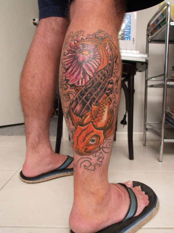 Leg Tattoo Images Designs