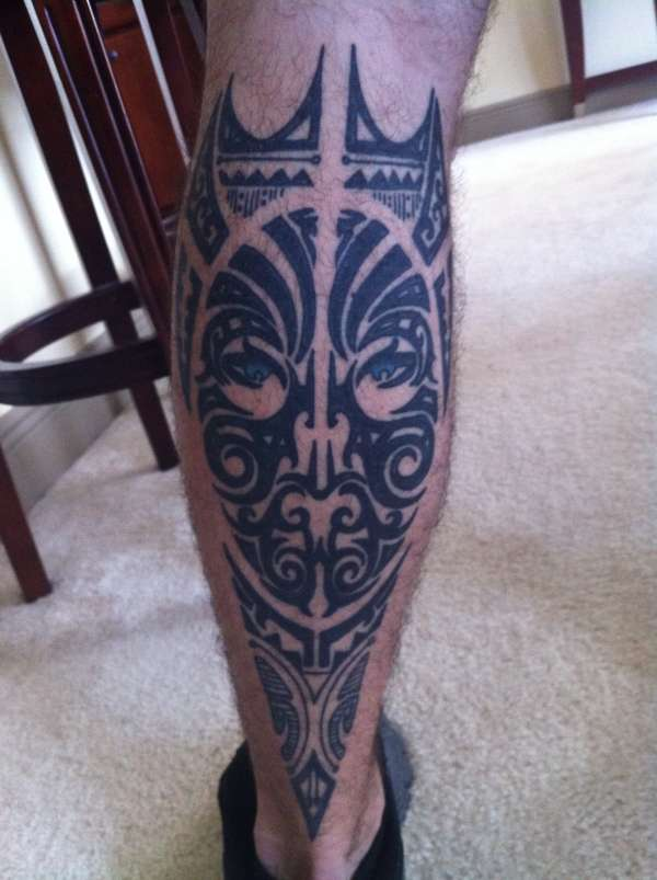Maori Lower Back Tattoo: Leg Tattoo Images & Designs