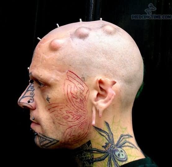 Neck Tattoo Images &amp Designs