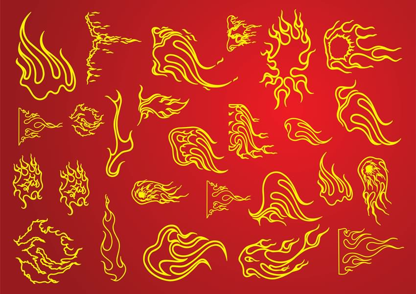 pentecost flames clipart