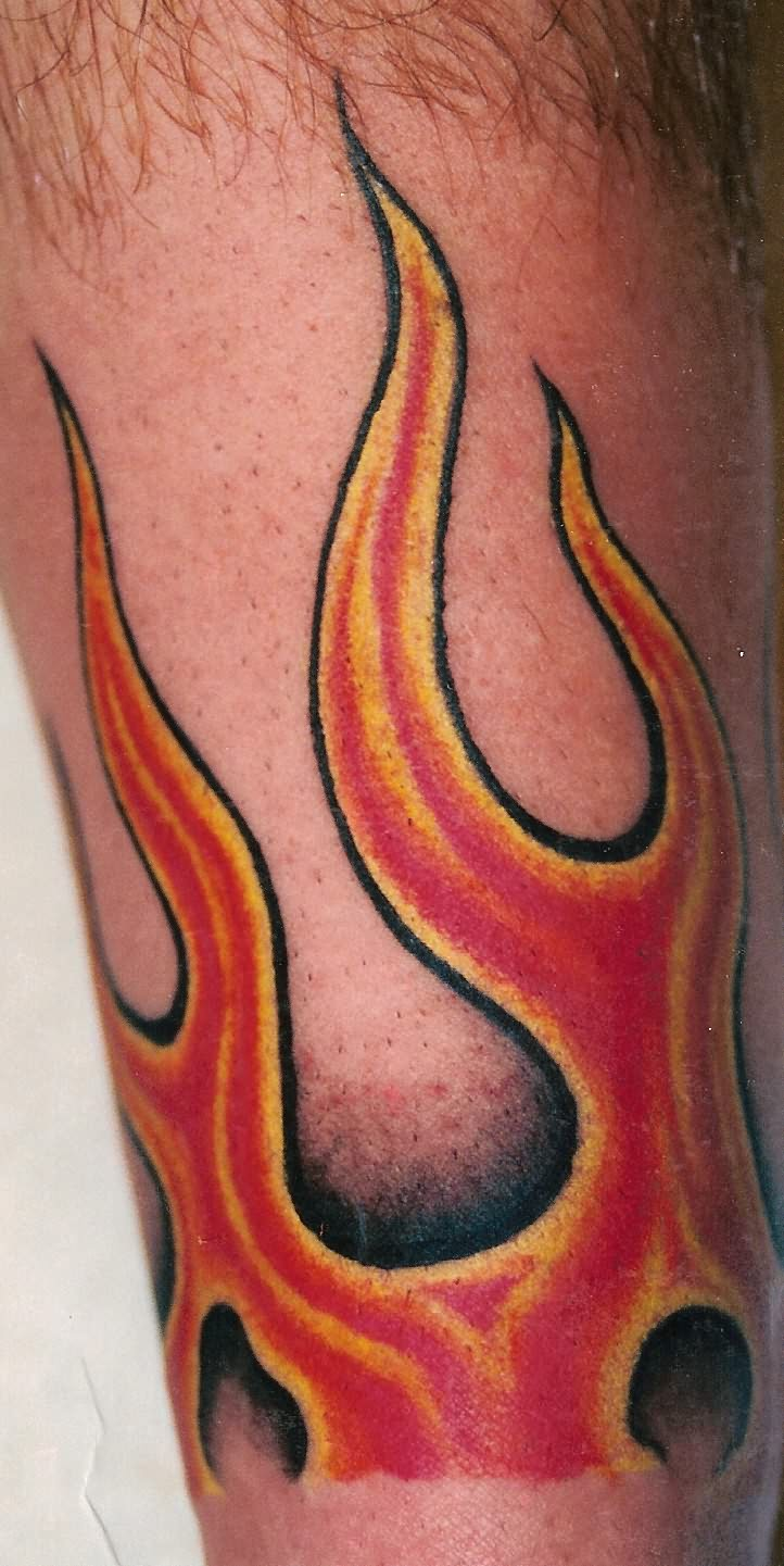 Tattoo world ideas 20 alluring tattoo designs of flames for Tattoo pictures of flames