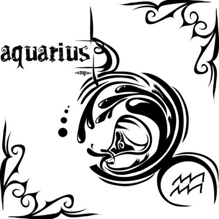 Aquarius Tattoo Images Designs