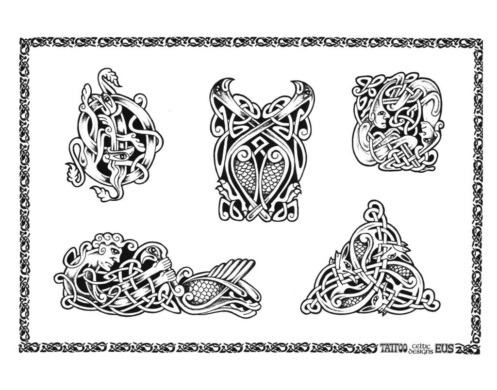 Aquarius Symbol Tattoo Tribal Celtic Tattoos
