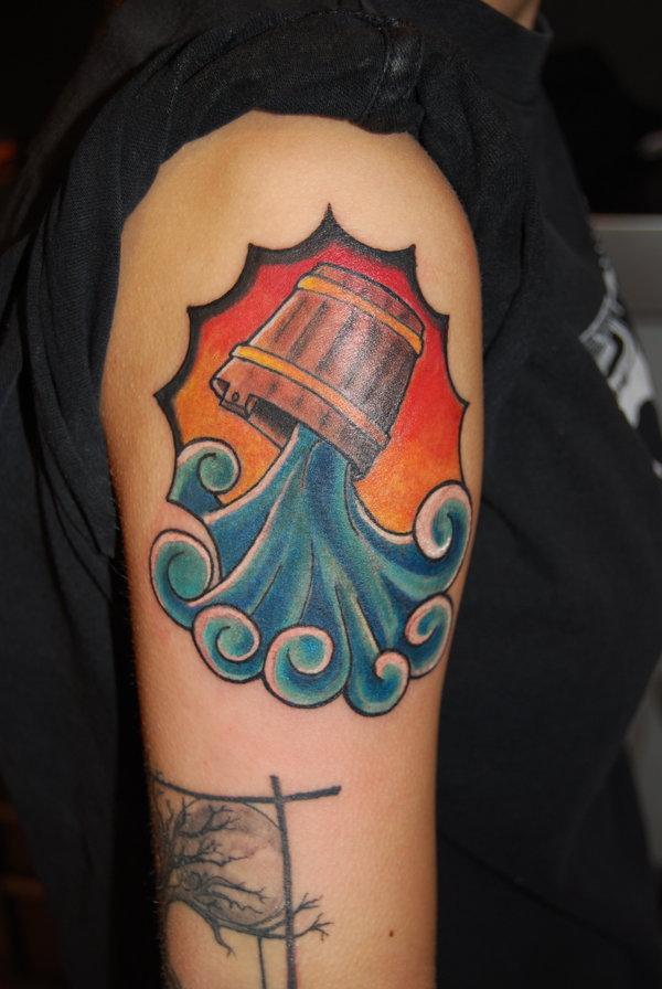 Aquarius Tattoo Images &amp Designs