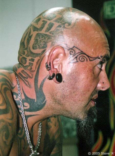 face tattoo images amp designs