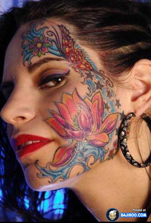 Face Tattoo Images &am...