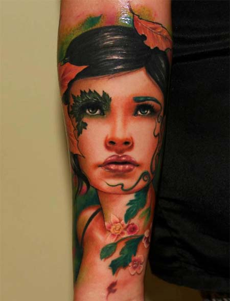 Face Sleeve Tattoo: Face Tattoo Images & Designs