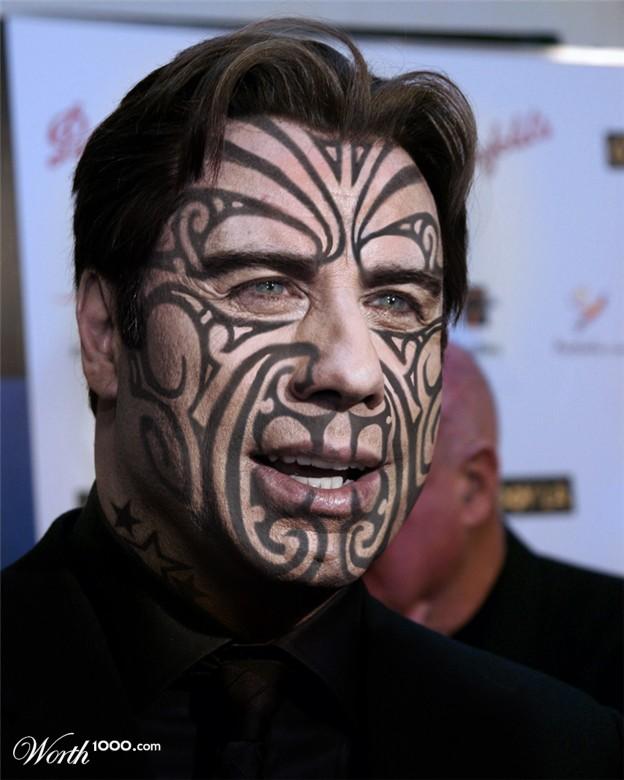 Extreme Black I... Tribal Deer Head Tattoo