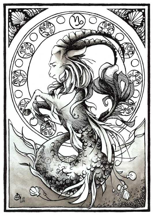 Capricorn Tattoo Images Amp Designs