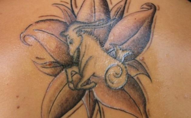 capricorn tattoo images designs