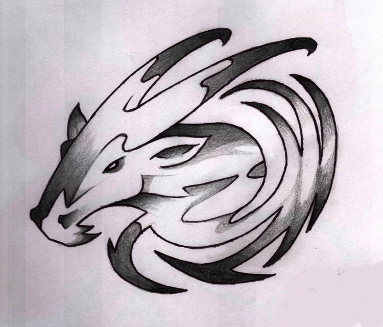 Capricorn Tattoo Images Amp Designs