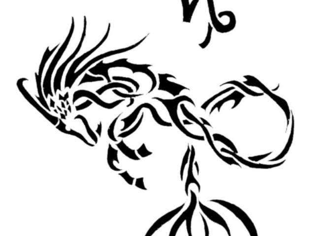 leo tribal zodiac sign tattoo on shoulder