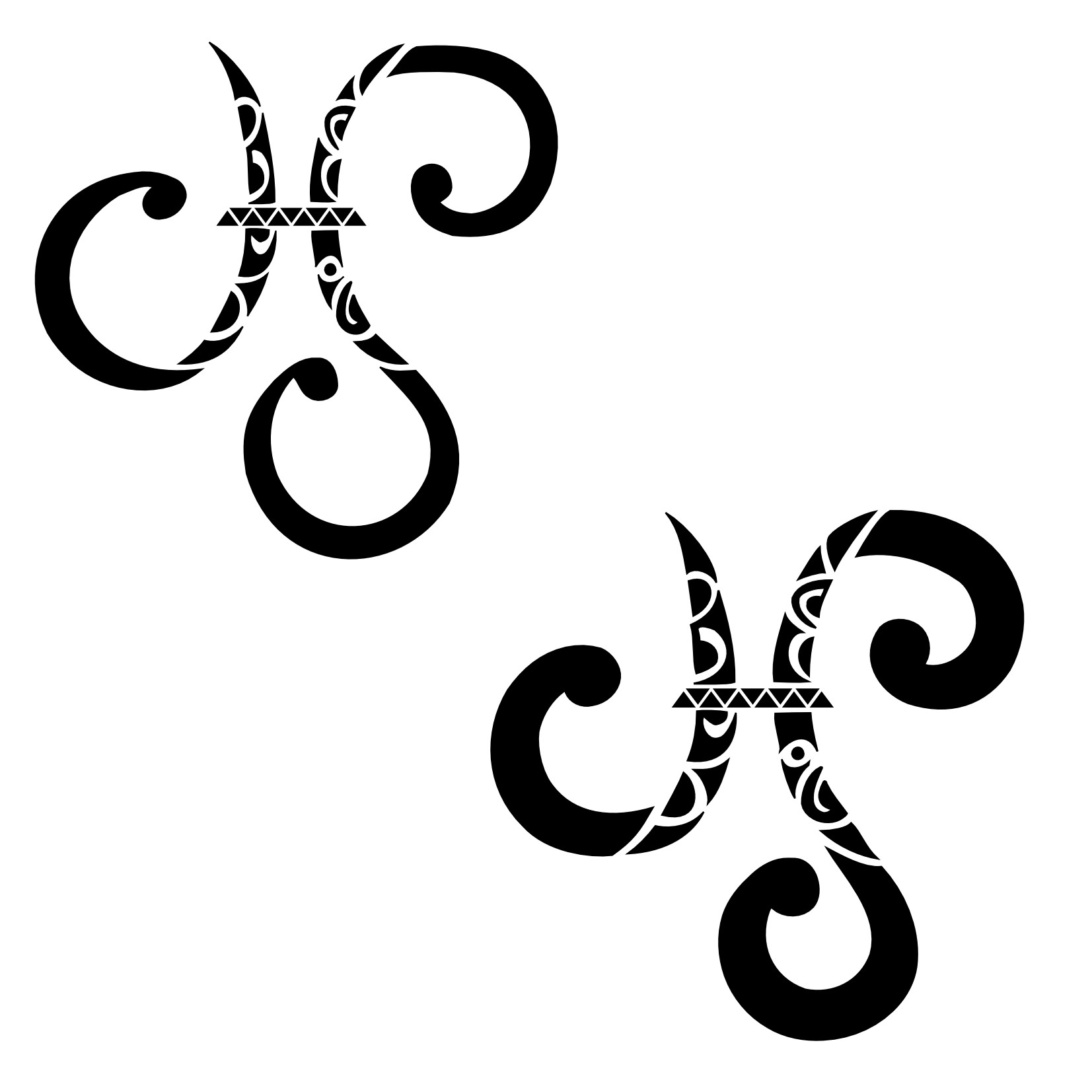 Aries Cancer And Capricorn Zodiac Symbols Tattoos Designs