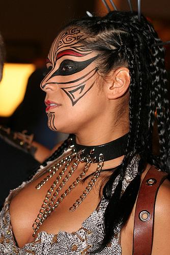 Think, that Facial tribal tattoos