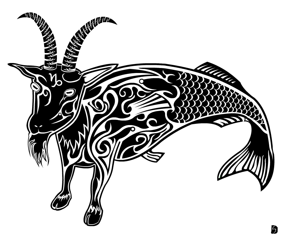 Capricorn Tattoo Images & Designs