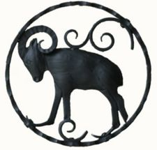Zodiac Symbol Of Capricorn Tattoo Design