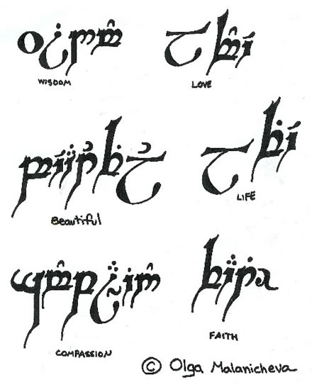 Elvish Love Quotes. QuotesGram