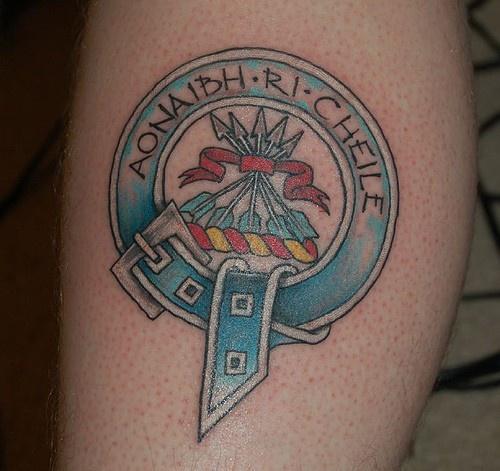 Scottish Clan Tattoos: Family Crest Tattoo Images & Designs