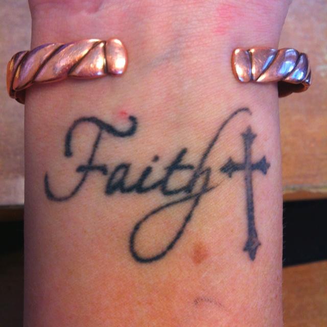 Faith tattoos page 42 for Faith cross tattoos