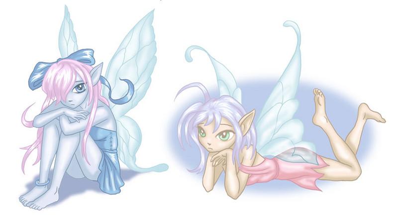 Anime Fairies Tattoos