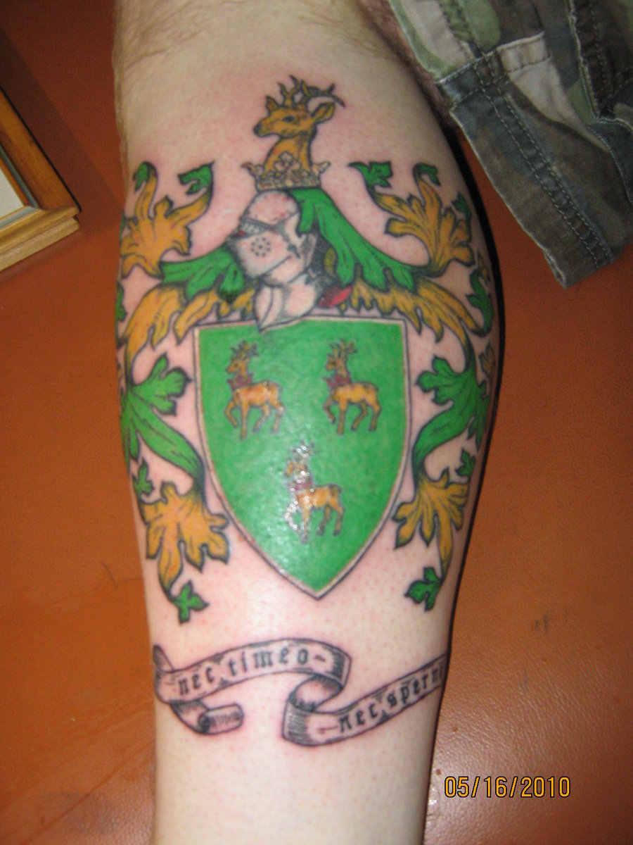 Family Crest Tattoo Images Designs