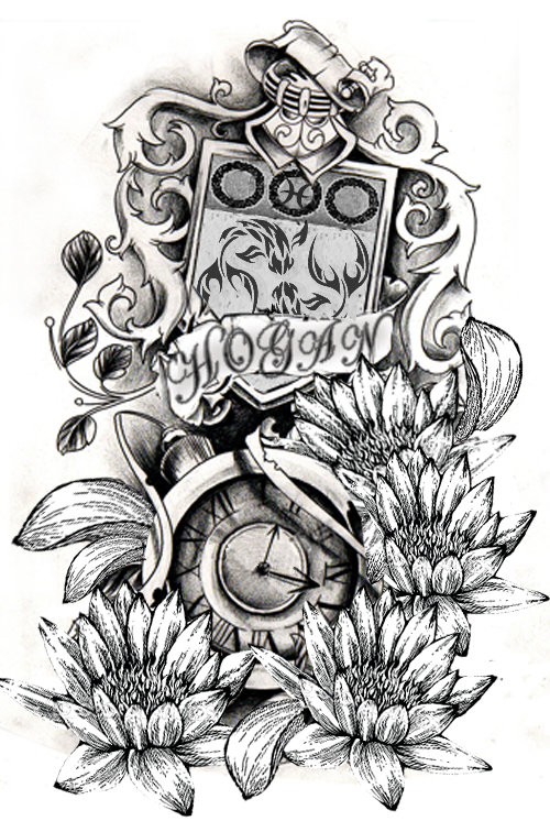 Family Crest Tattoo Images Amp Designs