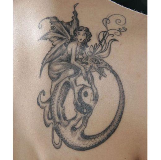 fairies tattoo images designs. Black Bedroom Furniture Sets. Home Design Ideas