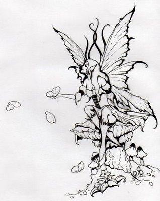 fairies tattoos page 53. Black Bedroom Furniture Sets. Home Design Ideas