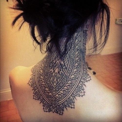 Most Beautiful Neck Tattoos: Feminine Tattoo Images & Designs