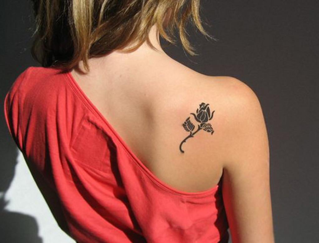 Татуировки для девушек фото и их значение на лопатки