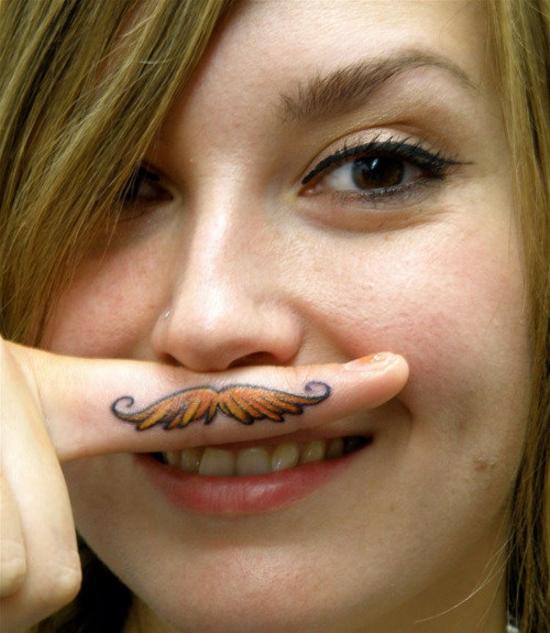 finger tattoo images designs