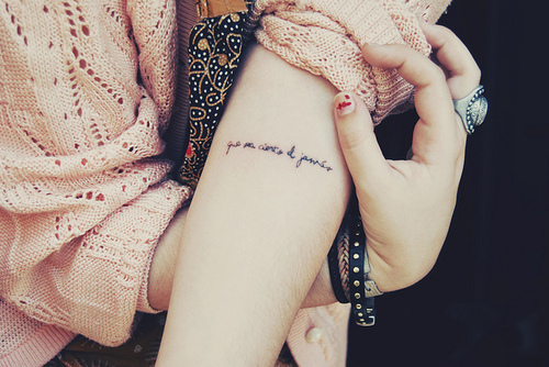 Feminine tattoo images designs for Feminine forearm tattoos