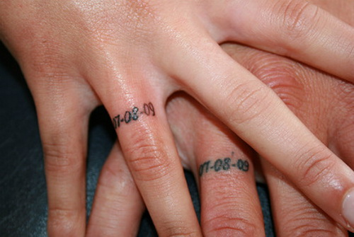 e7e6d2064 Memorial Anniversary Finger Ring Tattoos