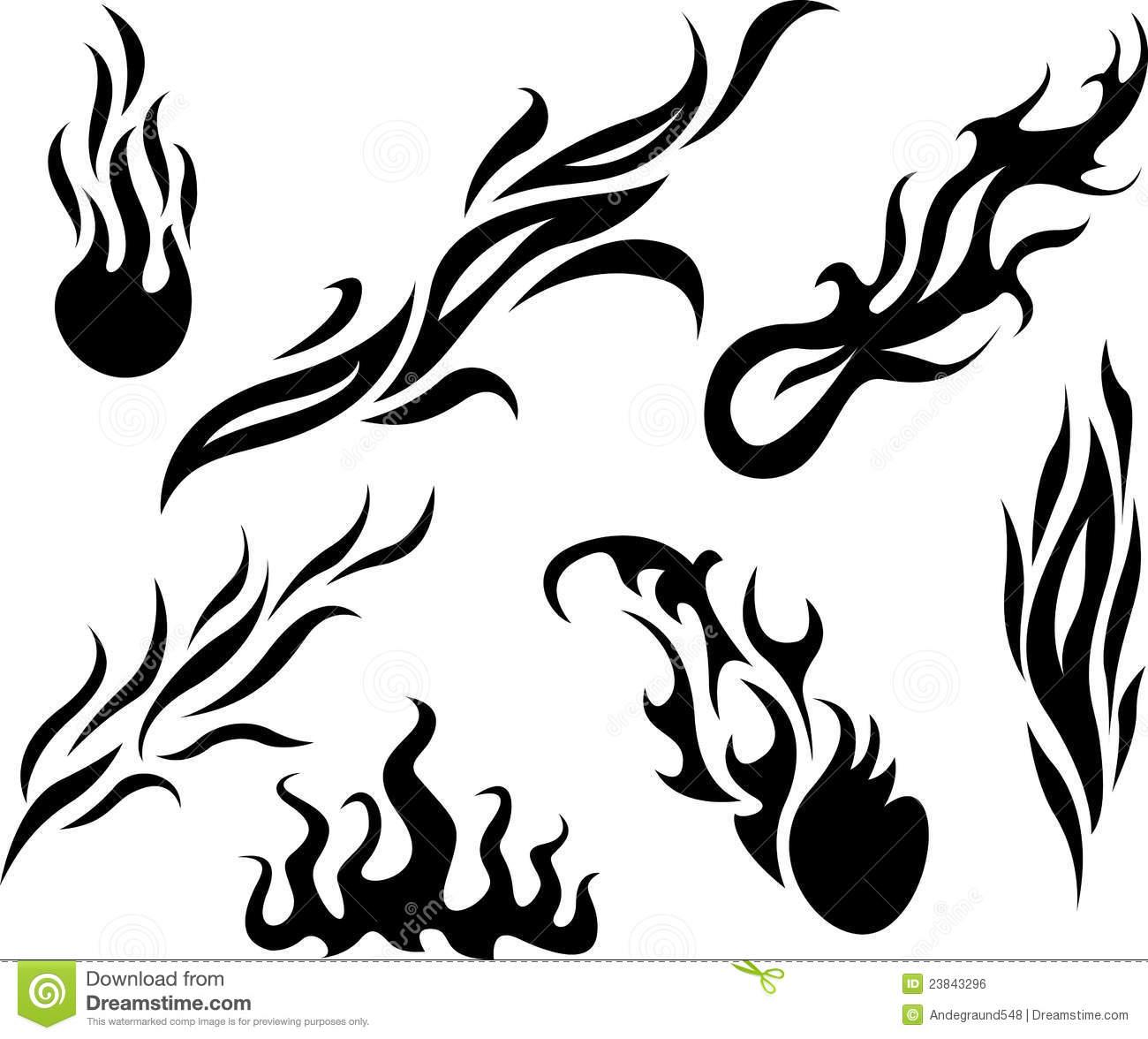 Фото для тату узоры пламя