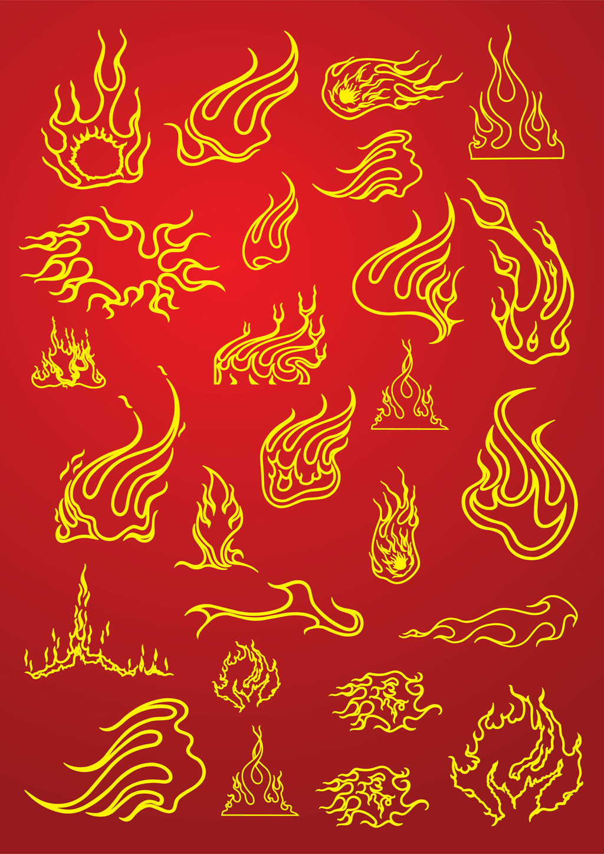 Fire Flames Tattoo Designs Flame Tattoos