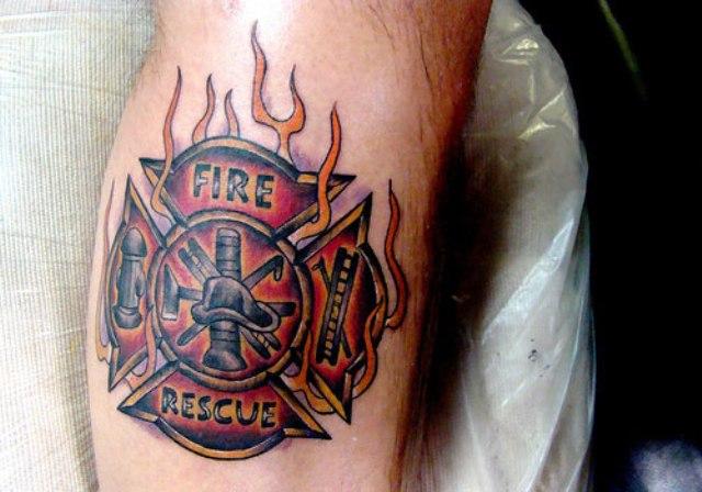 fire flame tattoo images designs. Black Bedroom Furniture Sets. Home Design Ideas