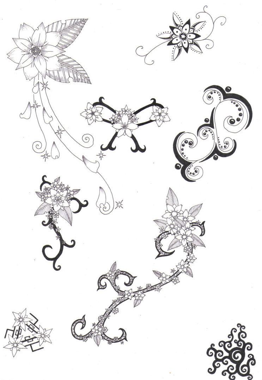 Flower tattoo designs awesome flower tattoos designs art izmirmasajfo Images