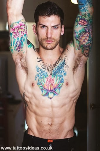 Flower Tattoo For Men